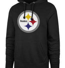 '47 Adult Imprint Headline Hoodie Steelers Black