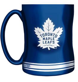 The Sports Vault 14oz Sculpted Coffee Mug Toronto Maple Leafs