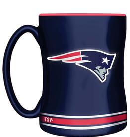 The Sports Vault 14oz Sculpted Coffee Mug New England Patriots