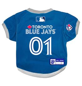 The Sports Vault Pet Jersey Toronto Blue Jays Royal
