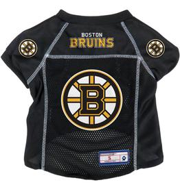 The Sports Vault Pet Jersey Boston Bruins Black