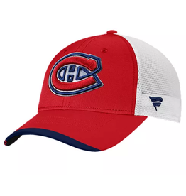 Fanatics Fanatics '21 Locker Room Adjustable Hat Montreal Canadiens Red/White