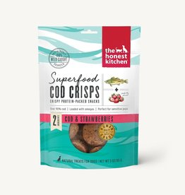 HONEST KITCHEN COD CRISPS STRAWBERRY