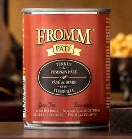 FROMM TURKEY PUMPKIN PATE 12 OZ