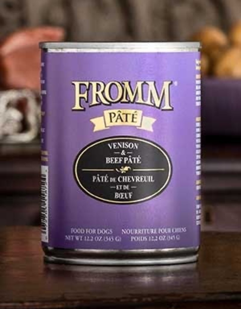 FROMM VENISON/BEEF PATE 12 OZ