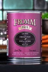 FROMM SALMON/CHICKEN PATE 12 OZ