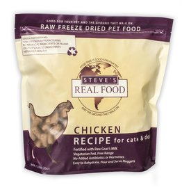 STEVES REAL FOOD FREEZE-DRIED CHICKEN 1.25#