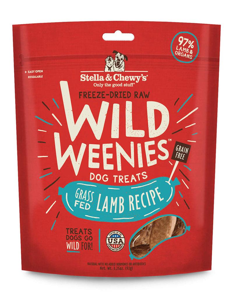 STELLA & CHEWY'S WILD WEENIES LAMB 3.25OZ