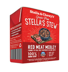 STELLA & CHEWY'S STEW RED MEAT MEDLEY 11OZ