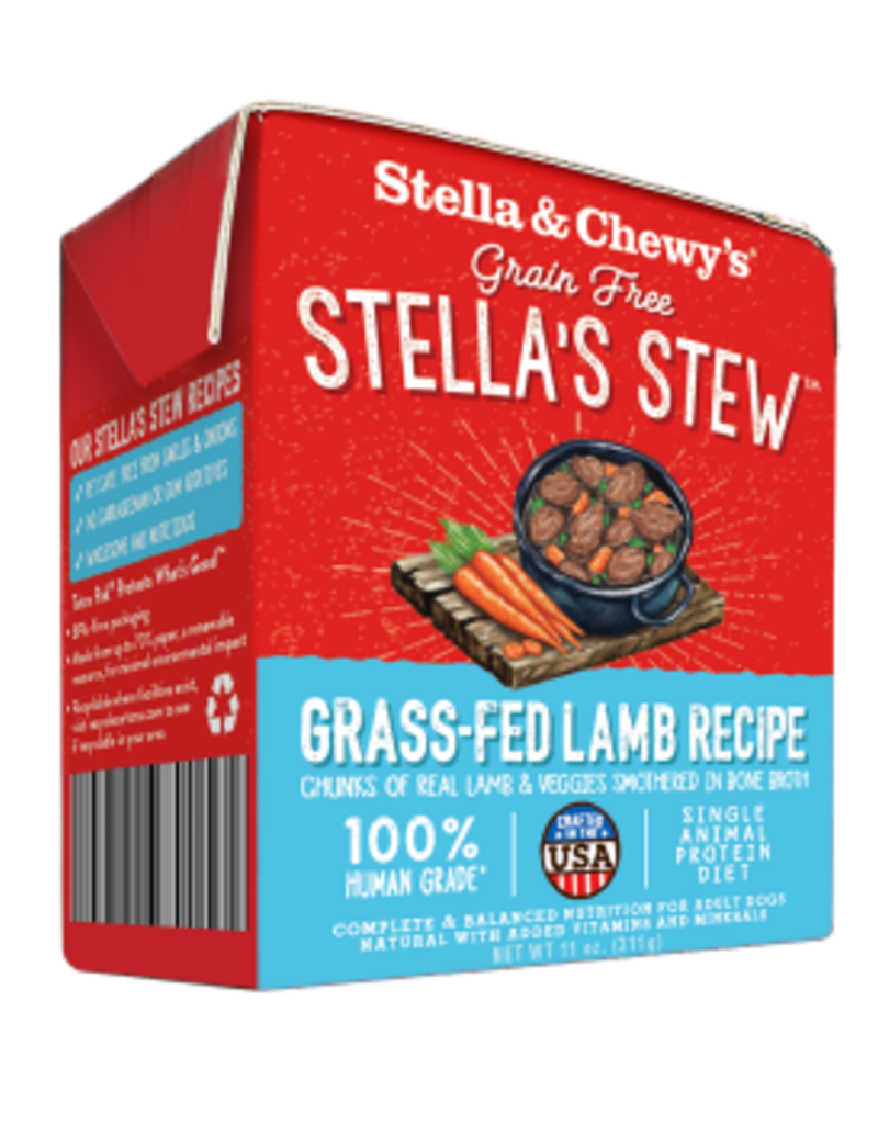 STELLA & CHEWY'S STEW LAMB 11OZ