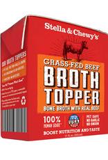 STELLA & CHEWY'S BONE BROTH TOPPER BEEF 11OZ