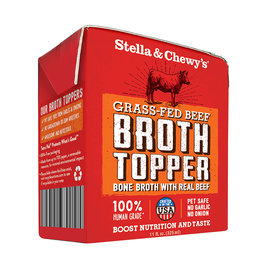 STELLA & CHEWY'S BONE BROTH TOPPER BEEF 11OZ