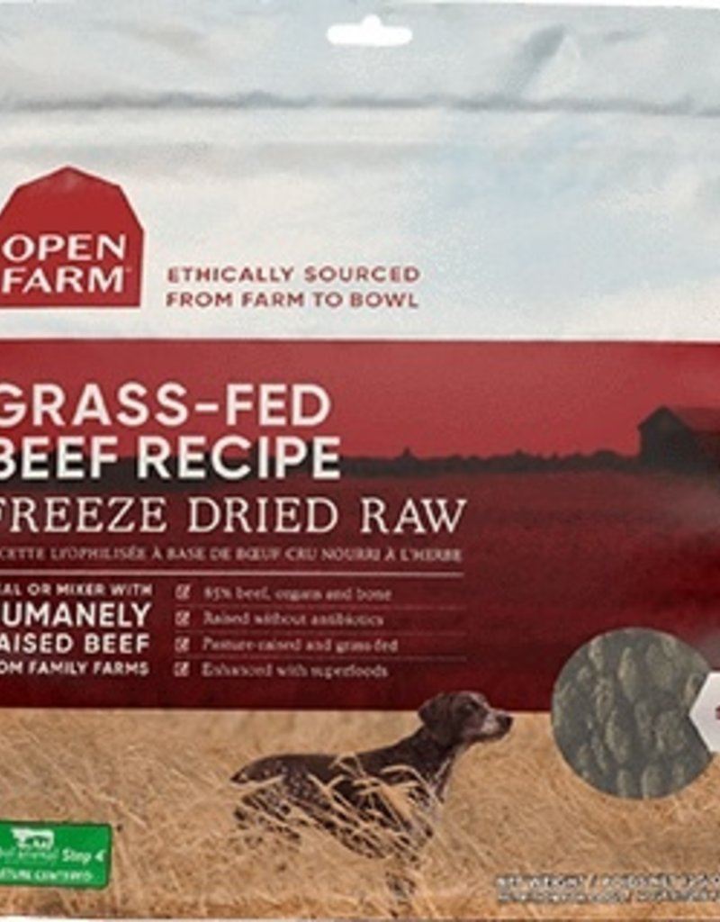 OPEN FARM FREEZE-DRIED BEEF 13.5OZ