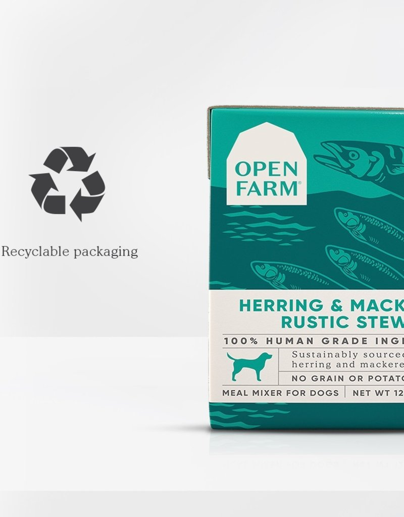 OPEN FARM STEW HERRING & MACKEREL 12.5OZ