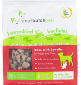 SMALL BATCH FREEZE-DRIED BITES BEEF 7 OZ