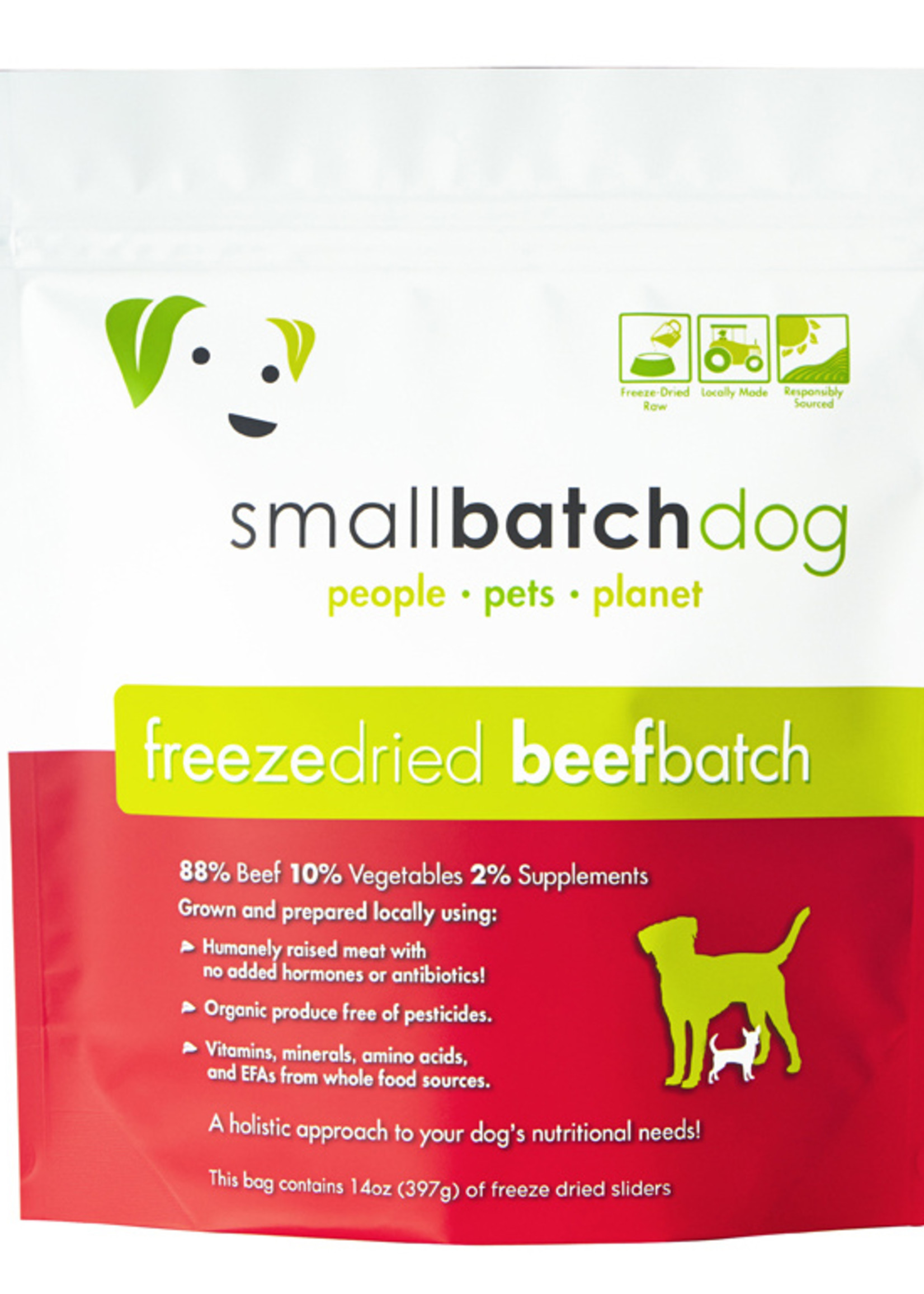 SMALL BATCH FREEZE-DRIED BEEF 14 OZ