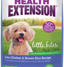 HEALTH EXTENSION CHICKEN/BROWN RICE LITE LITTLE BITES 4#