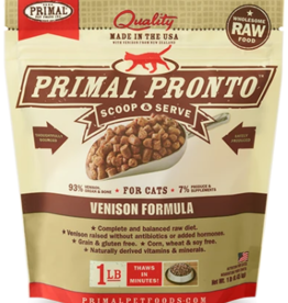 PRIMAL VENISON FROZEN PRONTO CAT 1 LB