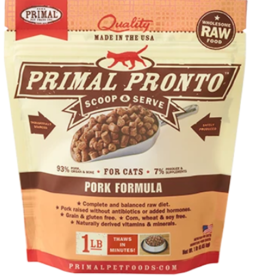 PRIMAL PORK FROZEN PRONTO CAT 1 LB