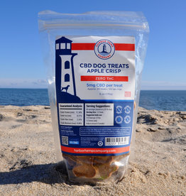 HARBOR HEMP CBD DOG TREATS APPLE CRISP