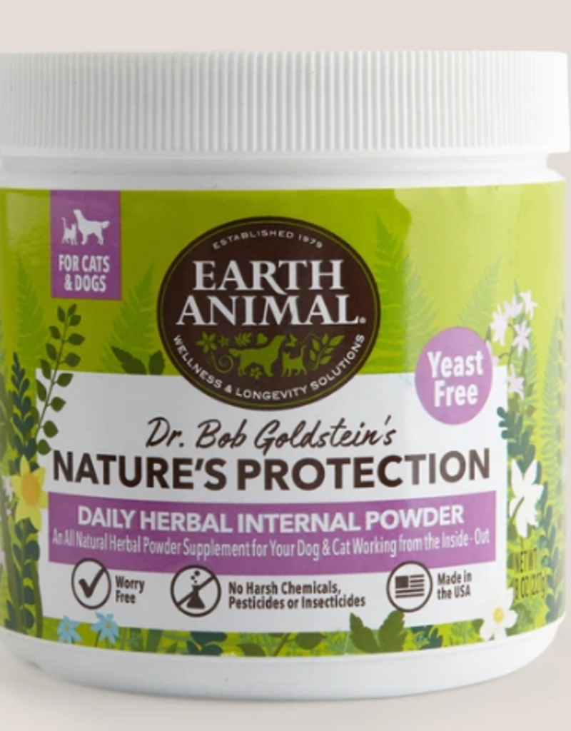 EARTH ANIMAL NATURE'S PROTECTION YEAST FREE 8 OZ