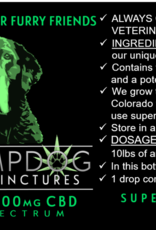 DR HEMPDOG 200MG TINCTURE BOTTLE