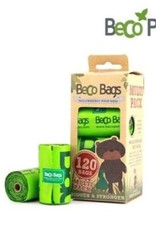 BECO POOP BAGS DEGRADABLE 120 CT