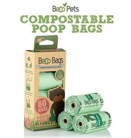 BECO POOP BAGS COMPOSTABLE 60 CT