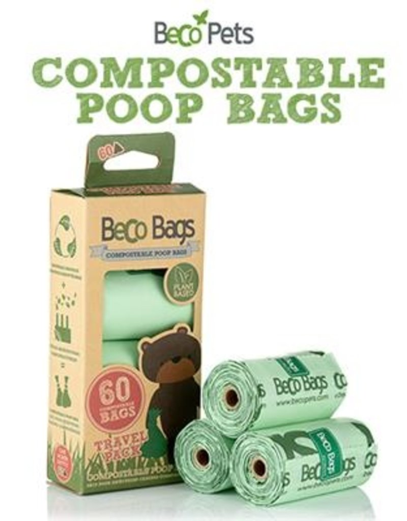BECO POP BAGS COMPOSTABLE 60 CT