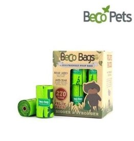BECO POOP BAGS DEGRADABLE 270 CT