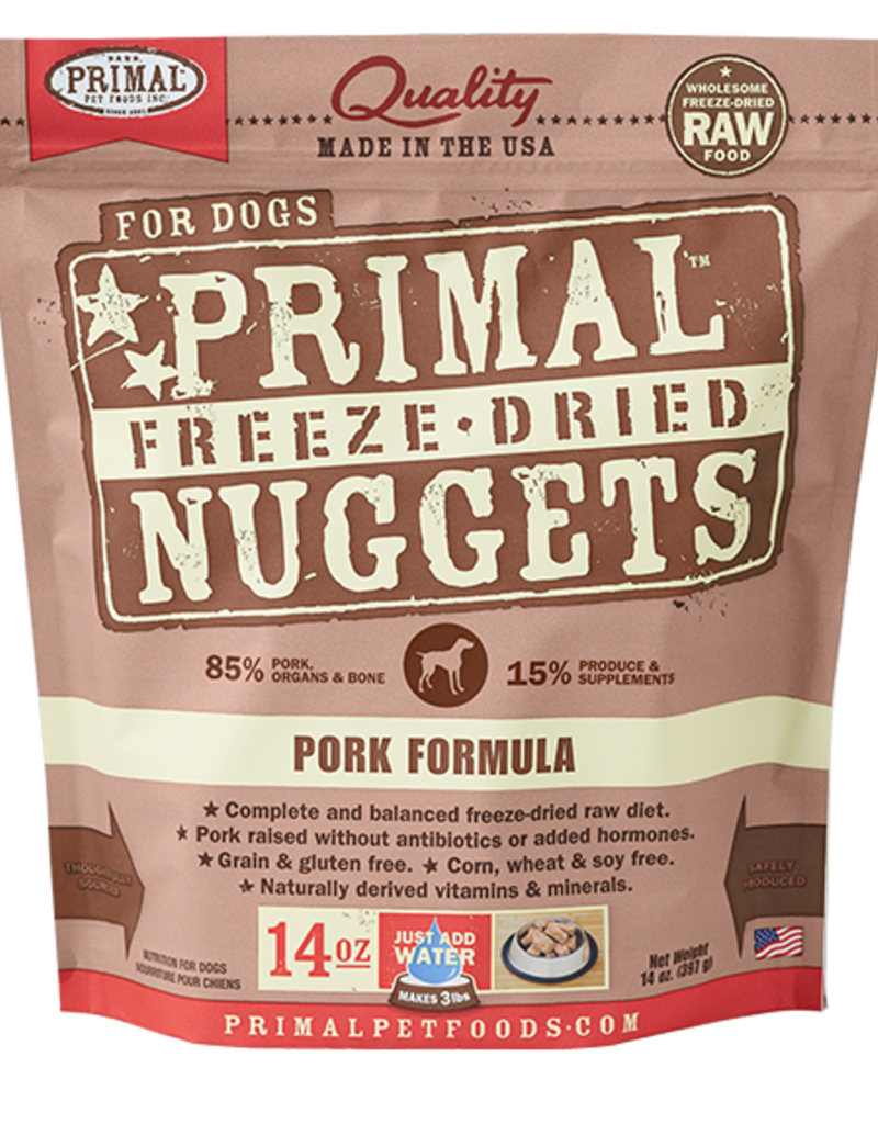 PRIMAL Freeze-dried Pork
