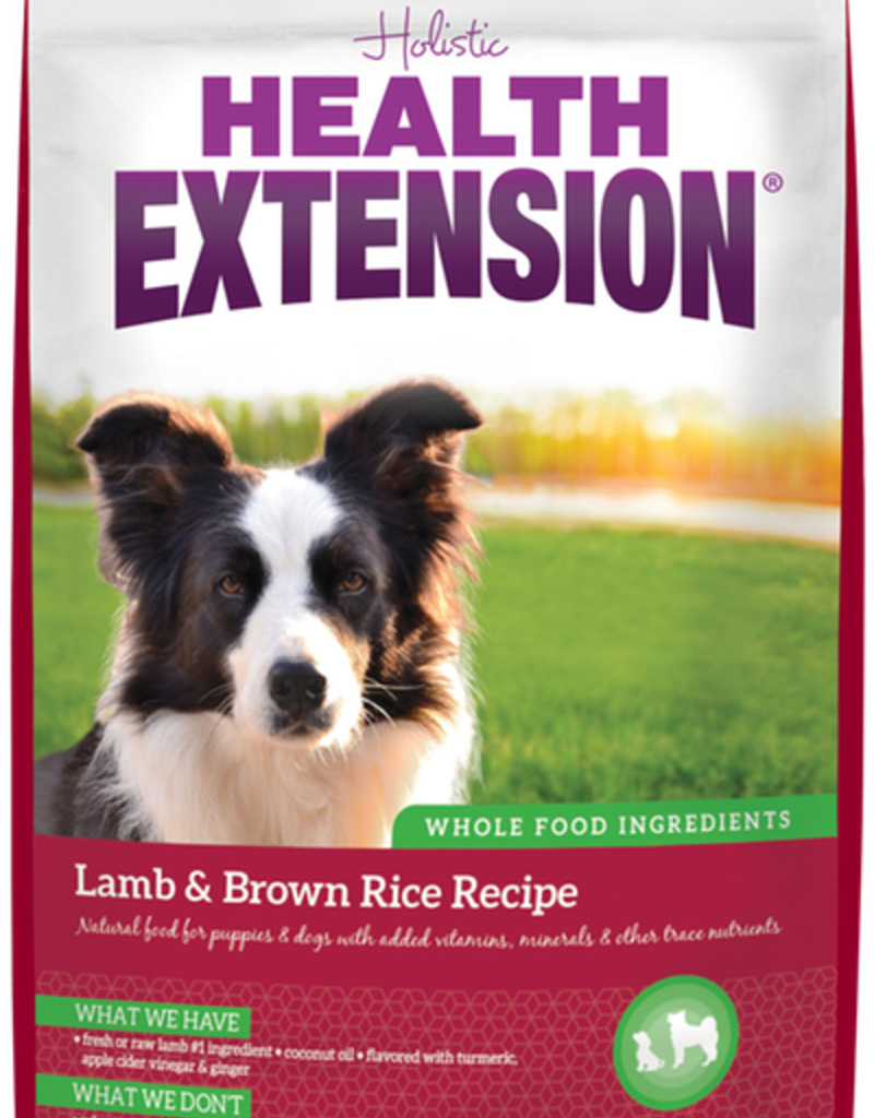 HEALTH EXTENSION Lamb & Brown Rice