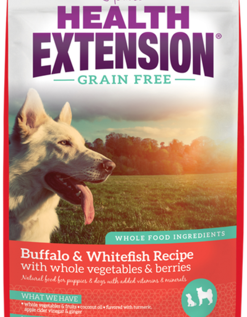HEALTH EXTENSION Buffalo & Whitefish