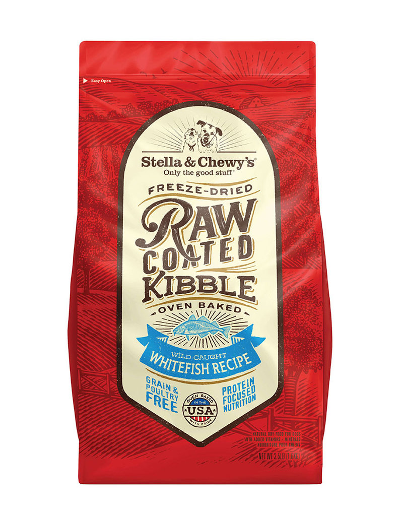 STELLA & CHEWY'S Raw Coated Whitefish