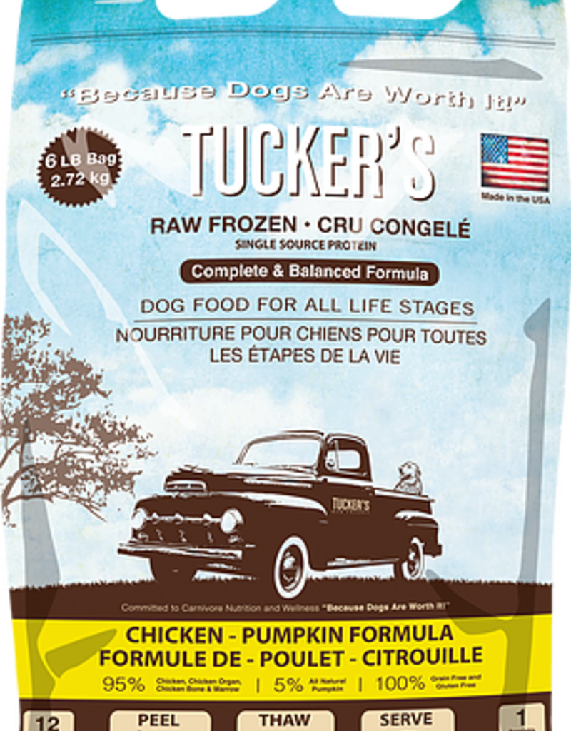 TUCKERS Chicken/Pumpkin