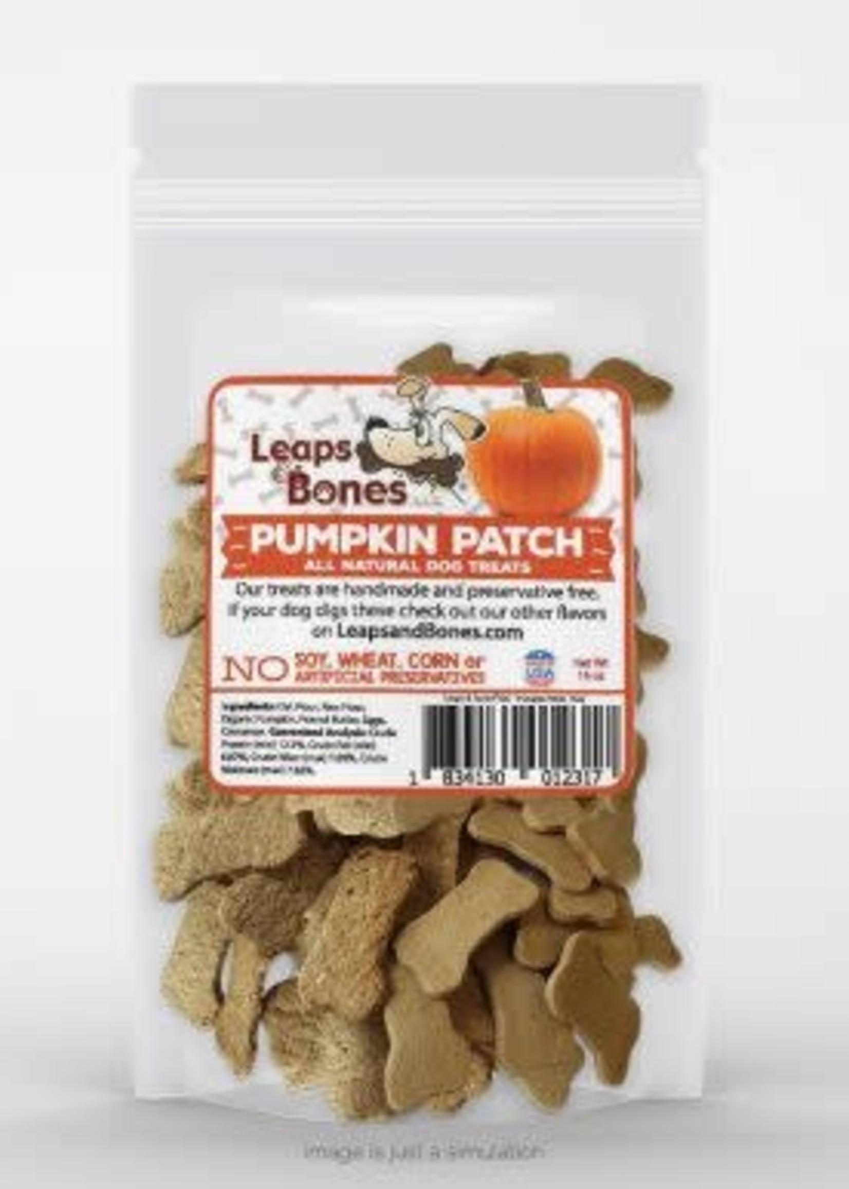 LEAPS & BONES Pumpkin Patch Wheat Free