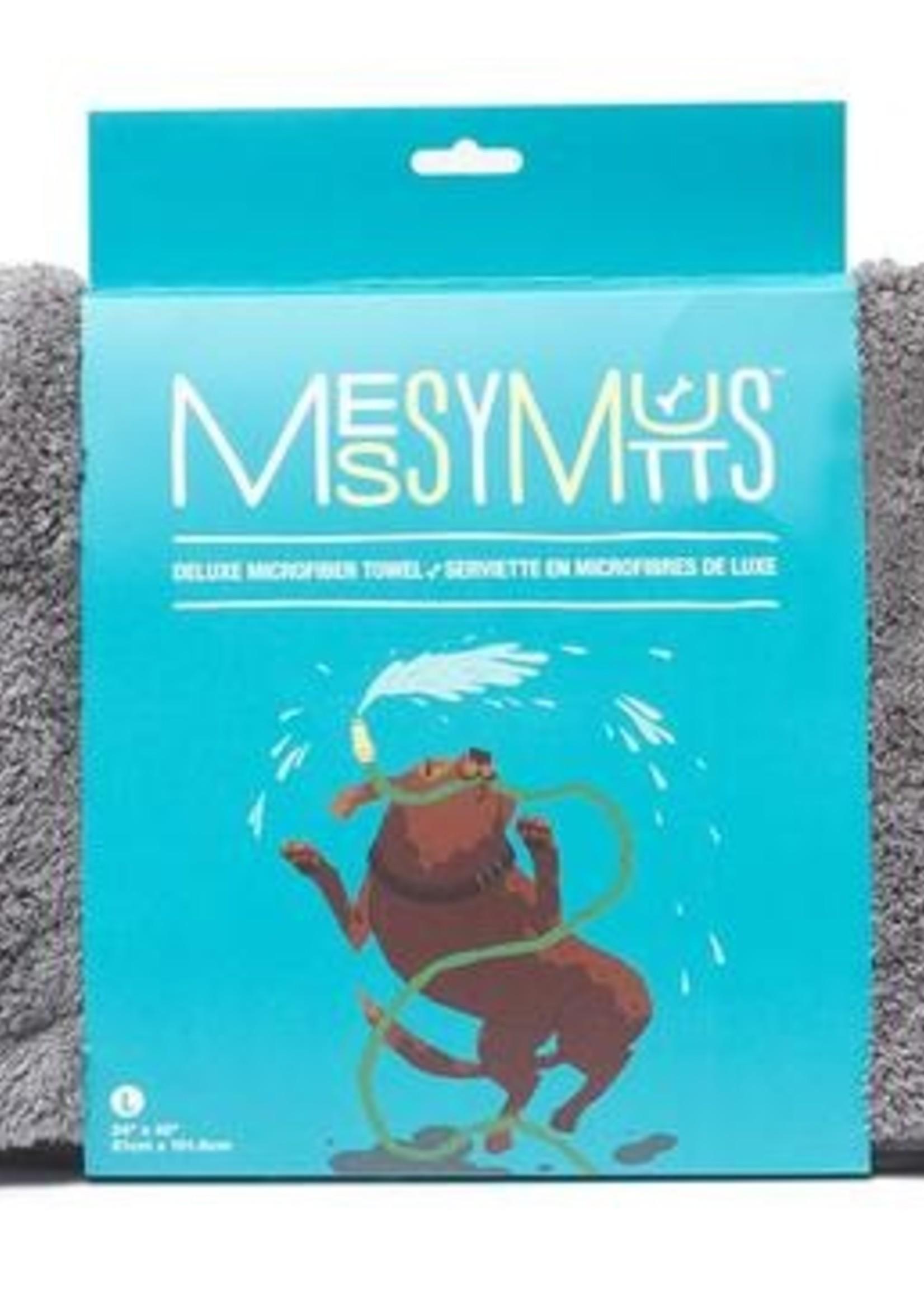 MESSY MUTT Microfiber Bath Towel