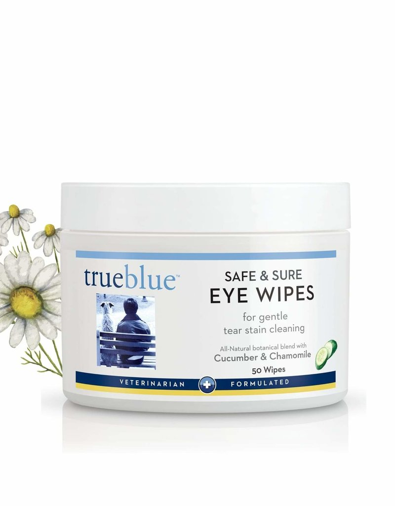 TRUEBLUE Eye Wipes 50 count