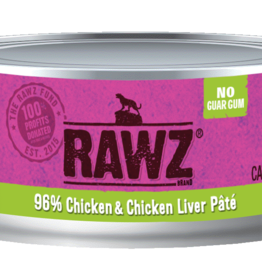 RAWZ CHICKEN  & CHICKEN LIVER CAT 5.5OZ