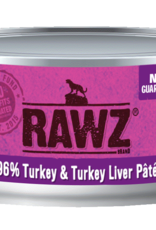 RAWZ TURKEY & TURKEY LIVER CAT 5.5OZ