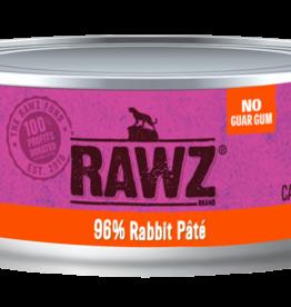 RAWZ RABBIT CAT PATE 5.5OZ