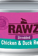 RAWZ CHICKEN/DUCK SHRED FOR CAT 5.5OZ