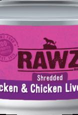 RAWZ CHICKEN/LIVER SHRED FOR CAT 5.5OZ