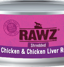 RAWZ CHICKEN/LIVER SHRED FOR CAT 5.5OZ