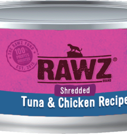 RAWZ TUNA & CHICKEN SHRED FOR CATS 5.5OZ
