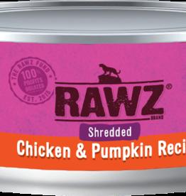 RAWZ CHICKEN/PUMP SHRED FOR CAT 5.5OZ
