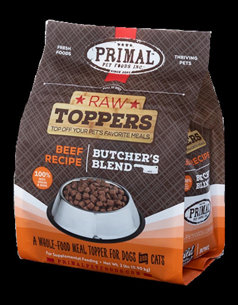 PRIMAL Butcher Blend Topper Beef 2#