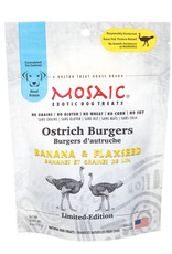 MOSAIC OSTRICH BURGER BANANA