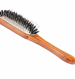 BASS BRUSH BAMBOO HYBRID GROOMER MED