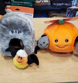 ZIPPY PAWS Halloween Burrow Toys